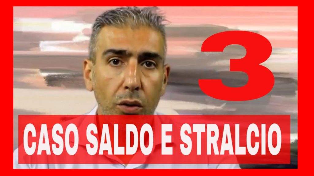 SALDO E STRALCIO CASO TRE – VIDEO-