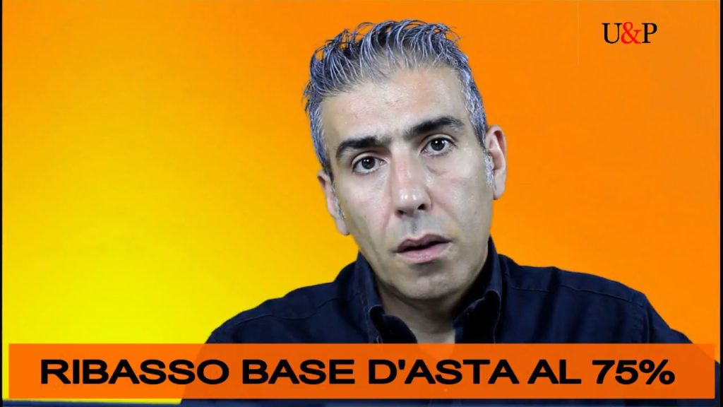 BASE D'ASTA AL 75% NEL PIGNORAMENTO IMMOBILIARE