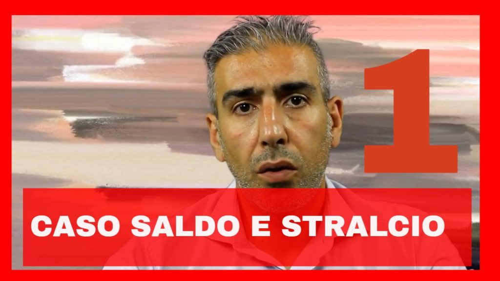 SALDO E STRALCIO – CASO 1 – VIDEO