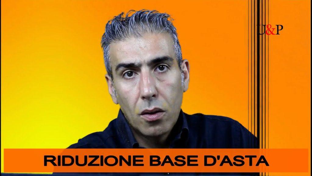 RIDUZIONE DEL BASE D'ASTA